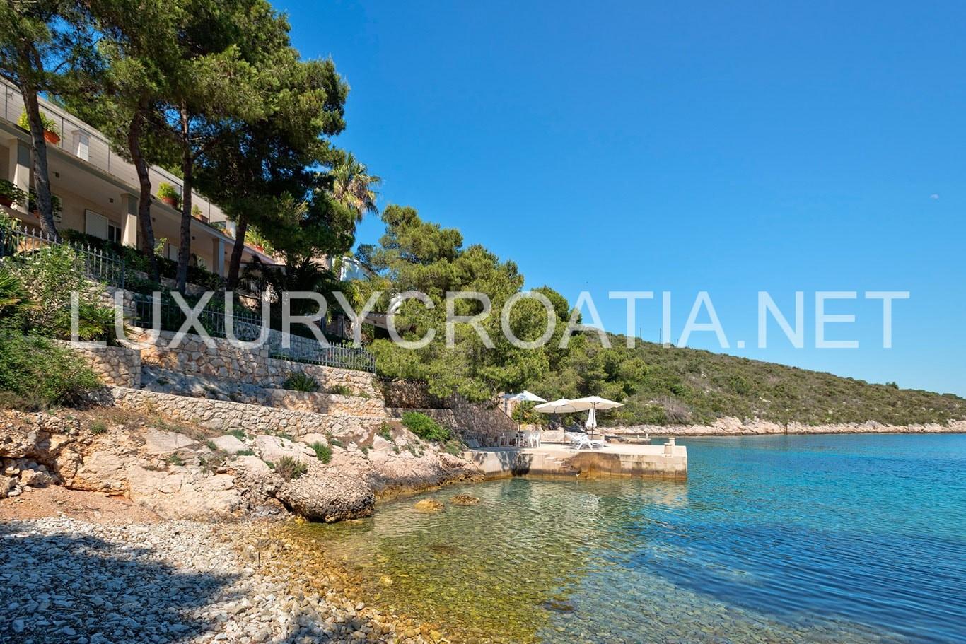 Villa With A Private Beach For Hvar Island Luxurycroatia