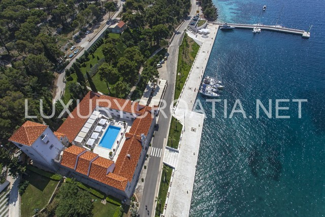 waterfront castle for rent Solta island Croatia