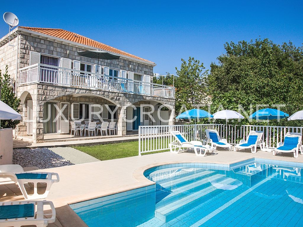 Villa With Pool For Rent Cavtat Dubrovnik