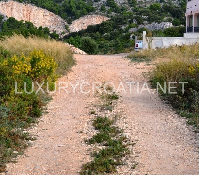 Sea view house plot land for sale hvar town luxurycroatia - Houses for small plots of land ...