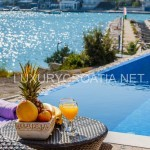 Luxury villa with pool and sea view in Marina, Trogir