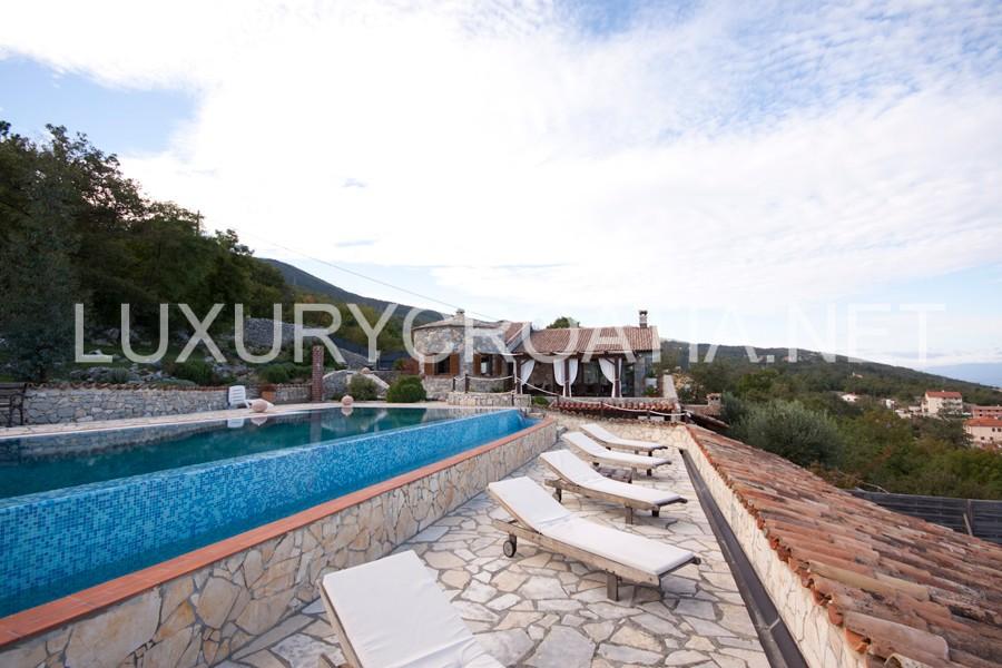 Magnificent five star villa near the sea opatija luxury for 5 star villas