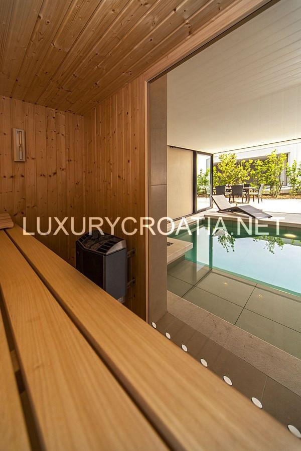 Villa With Indoor Pool For Rent Primosten Sibenik Croatian Villas Rentals