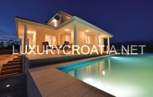 Seaview villa with pool for rent, Novalja, Pag
