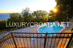 Stone villa with pool in privacy, near Zadar, Croatia for rent