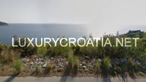 Seafront Land for sale, Prižba, Korcula, construction zone
