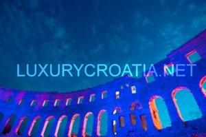 Pula amphytheatre, Istria