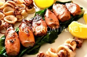 Croatian Adriatic coast and islands of Dalmatia and Istria, Sea food