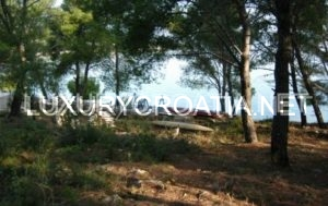 Beachfront building land for sale, Zman, Dugi Otok