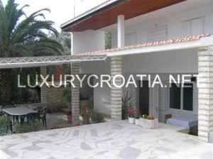 House with a private beach for sale in Marina, Trogir area