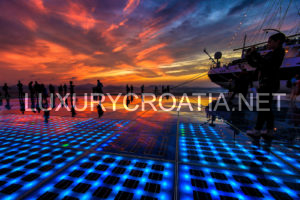 North Dalmatia - places to visit, history and heritage, Zadar sunset