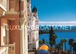 Opatija, rich history and picturesque surroundings