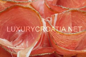 Porec, Prosciutto and olive oil
