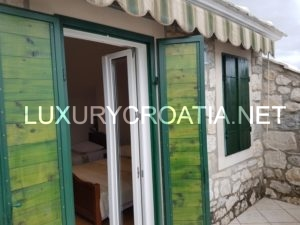 Stone house with stunning view, Baska Voda