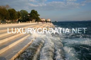 Zadar, North Dalmatia coastline, The Sea Organ