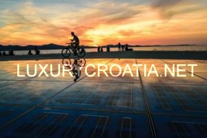 Zadar, North Dalmatia coastline, The Greeting to the Sun