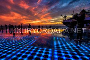 Zadar unforgettable sunset