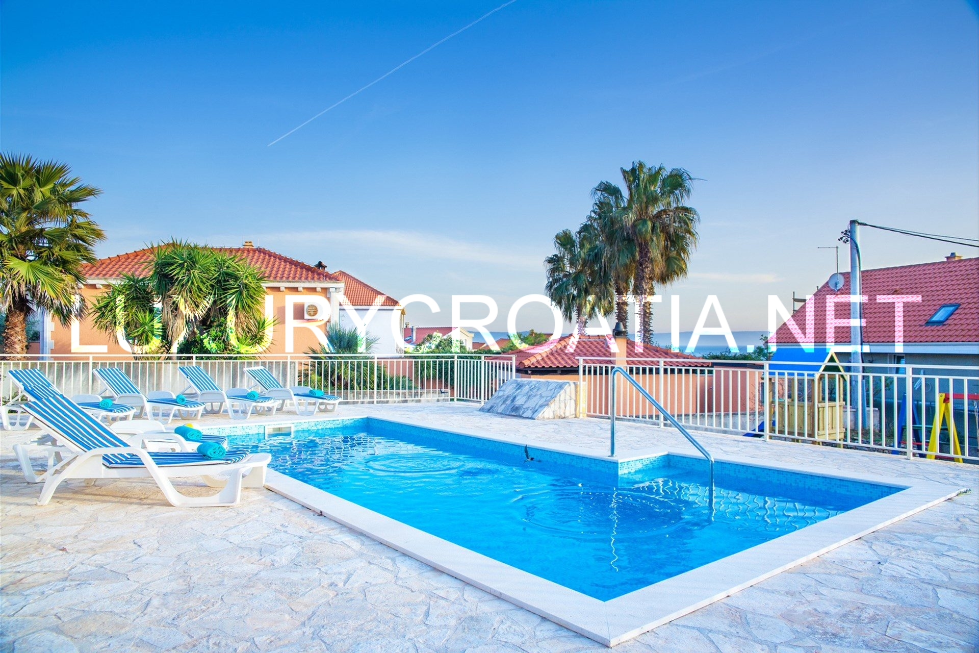 Charming Sea View Villa With Pool For Rent Sumartin Brac