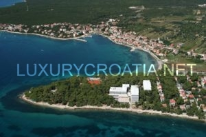 Seafront building land for sale in Petrcane, Zadar area