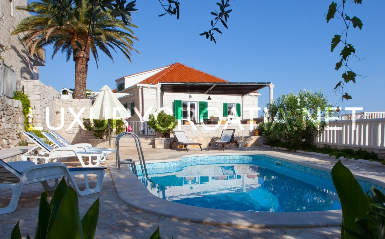 stone house with pool sumartin brac for up to twelve people 1 25 click on image to enlarge stone house with pool