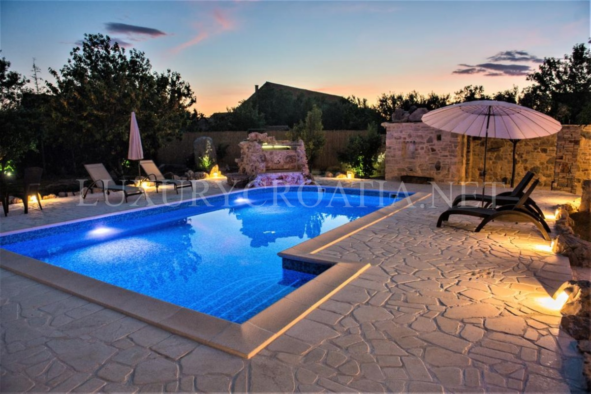 Holiday Home With Pool Sibenik Area Luxury Croatia