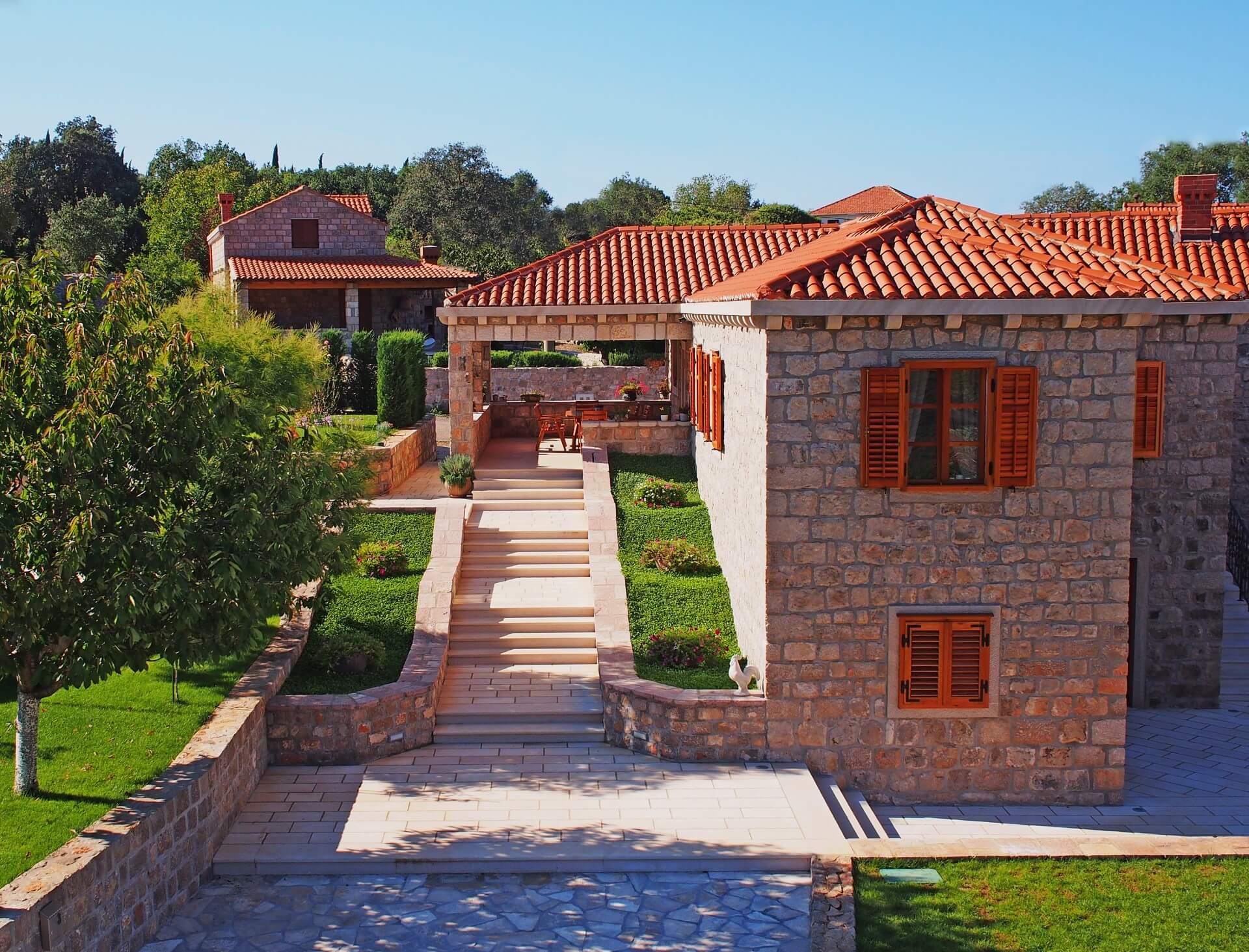 Rustic Stone Villa With Pool For Rent Konavle Dubrovnik