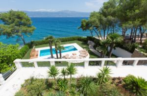 Beach front villa for rent Ciovo Trogir