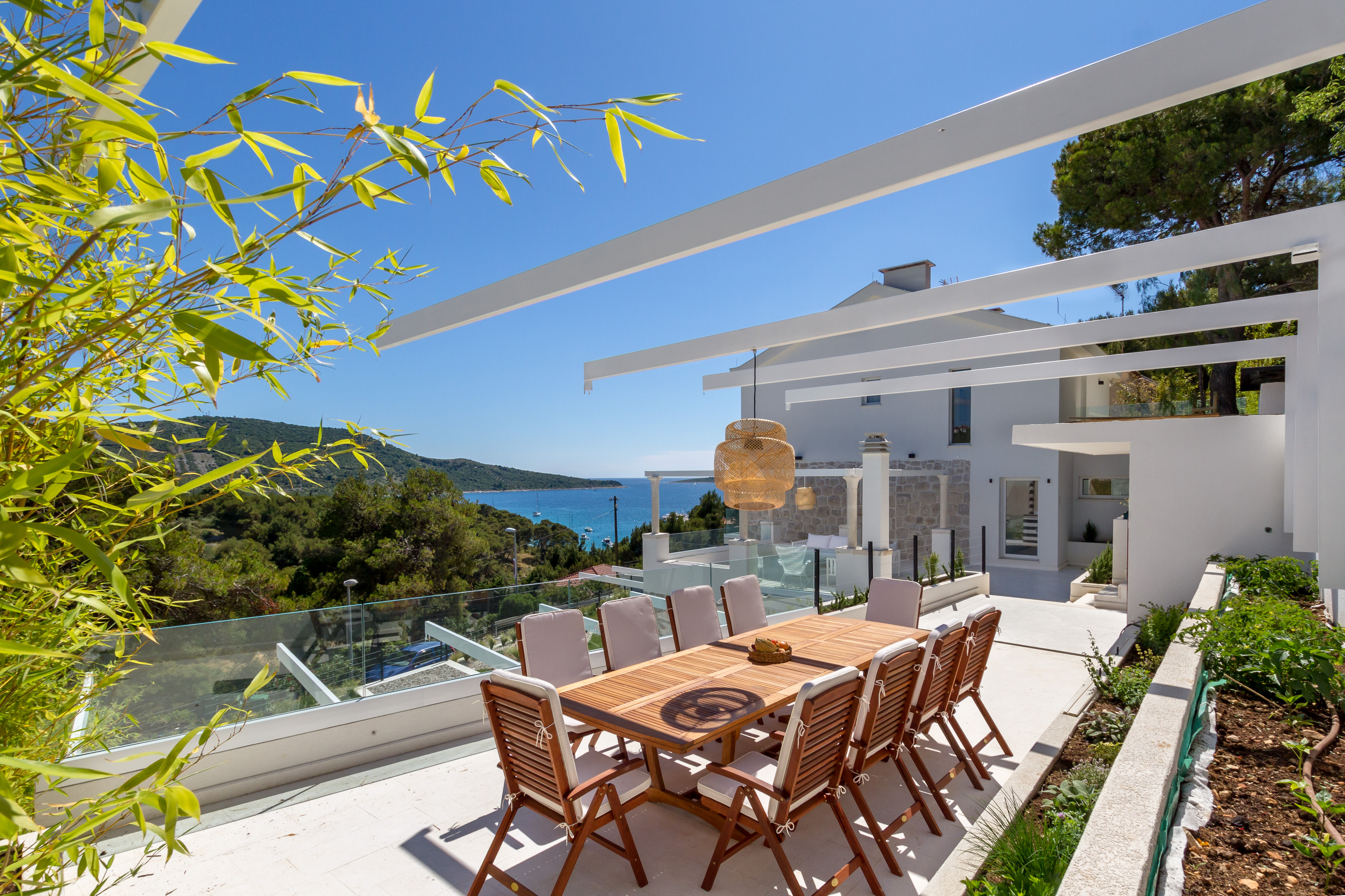 Modern Sea View Villa For Rent With Pool Primosten
