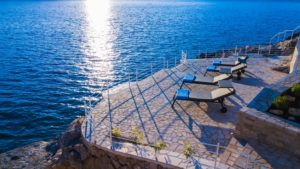 Luxury Seafront Villa for rent Dubrovnik area