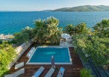 Holiday villas rent Trogir area Croatia