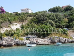 Solta island seafront land for sale