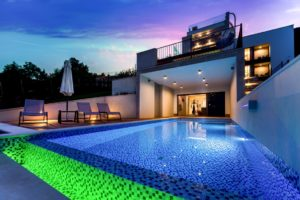 luxury seaview pool villa for rent Opatija (36)