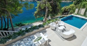 seafront villa for rent brac island