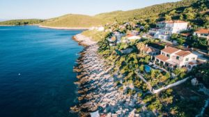 seafront villa vis island