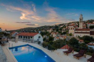rustic villa for rent Brac