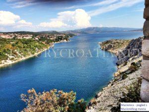 Seaview house for sale near Posedarje Zadar area