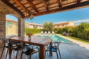 Countryside pool villa