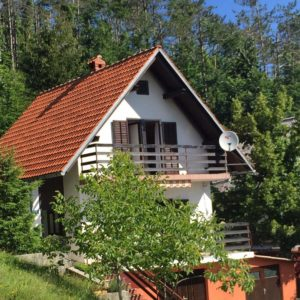 Holliday House in Fužine for sale