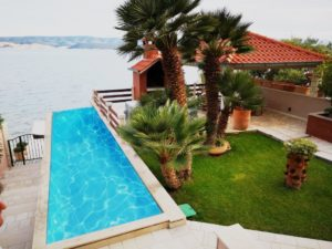 Seafront villa for rent, Omis area