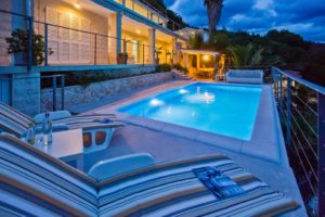 VILLA WITH A PRIVATE BEACH AND POOL FOR RENT HVAR ISLAND
