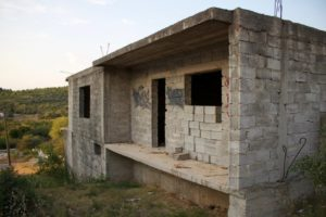 Unfinished house for sale Tisno area