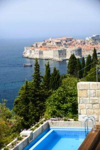 Luxury sea view villa for rent Dubrovnik Croatia