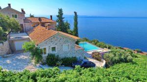 Sea view villa with pool in Dingac Region