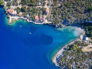 Seafront land for sale on Hvar island