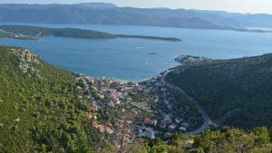 Croatia Klek waterfront house for sale