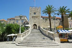 Croatia island Korcula seafront villa for sale