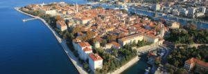 Croatia Zadar area seafront land for sale