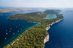 Waterfront land for sale on Dugi Otok island