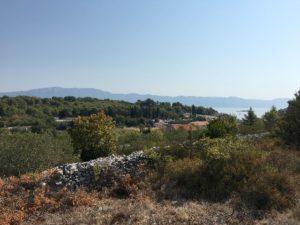 Land for sale on Island Korcula