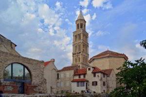 Croatia Split area land for sale with sea view